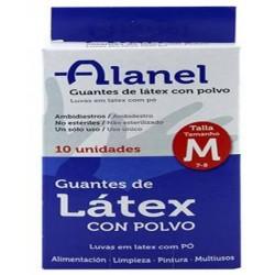 """Luvas Latex T/M """"Alanel"""" Cx..."""