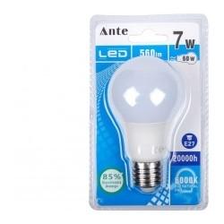Lampada Led A60 E27 7W cx 24