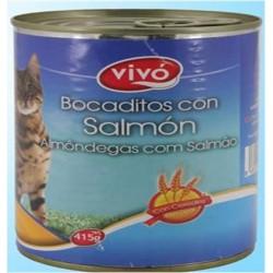 Comida P/Gato Lata(Salmão)...