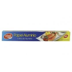 Papel Aluminio 30 m  cx...