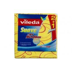 Pano Vileda Amarelo 2+1...