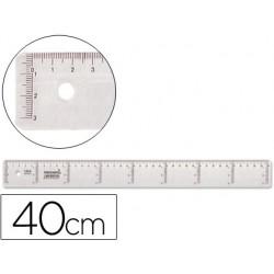 REGUA 40CM LIDERPAPEL CX 20