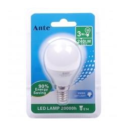 Lampada LED G45 E14  3W (...