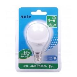 Lampada Led G45 E14 4W cx 24