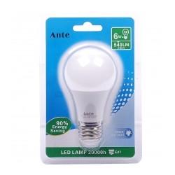 Lampada Led A60 E27 6W cx 24