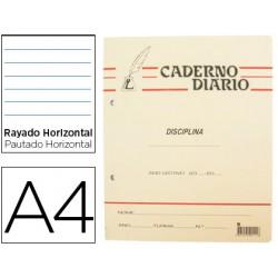 Caderno Diario Pena Pautado...
