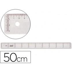 REGUA 50CM LIDERPAPEL CX 20